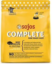 Sojos Freeze Dried Raw Beef Complete Dog Food 1.75 lb