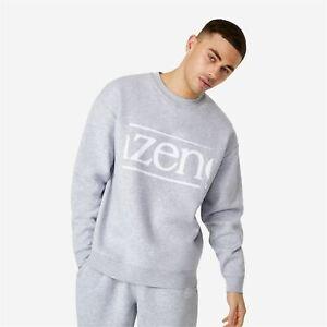 Slazenger Banger Crew Sweatshirt Mens Gents Pullover T Shirt Tee Top Jumper Full