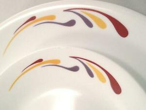 Corelle CELEBRATION *Choose: 8 1/2 LUNCH or 10 1/2 DINNER PLATE *Gold Purple Red