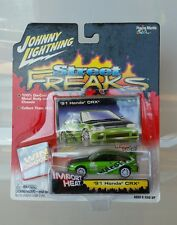 Rare Johnny Lightning 1991 Honda CRX White Lightning Chase Green