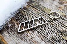 M power keychain for BMW Motorsport stainless steel keyring   M1 M2 M3 M4 M5 M6