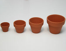 5 Tontopf in verschiedenen Größen Tontöpfe Blumentopf Ton Terrakotta Deko