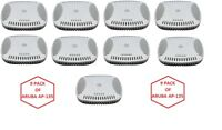 Lot of 9 Aruba Networks AP-135 Controller Wireless Access Points PoE 2.4/5GHz