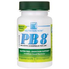 Nutrition Now Pb 8 Pro-Biotic Acidophilus 14 Billion Cfu 60 Veg Caps