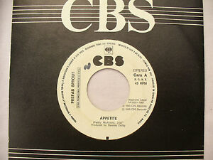 PREFAB SPROUT APPETITE one sided demo from Spain cbs 36951