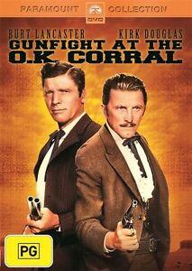 Gunfight At The O.K. Corral (DVD, 2013)Burt Lancaster*terrific Condition*