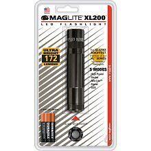 Maglite XL200S3016 LED Flashlight 3 Cell Black