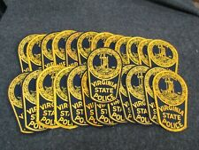 Patch lot Virginia State  x25  (x25)