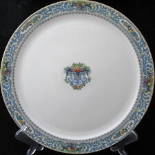 Lenox The Autumn Chop Plate Platter Cream Raised Fruit Floral Edge Center