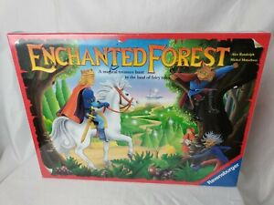 Vintage Enchanted Forest Magical Fairy Tale Treasure Hunt Board Game 1994 Sealed