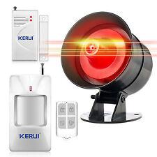 Wireless Loud Voice Sound&Flash Siren Alarm System for Home Burglar Security