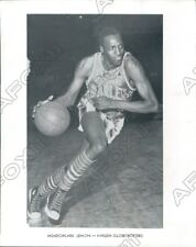 1965 Harlem Globe Trotters Basketball Clown Prince Meadowlark Lemon Press Photo