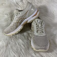 Asics Womens Gel Nimbus 22 Cream Gold Running Shoes Lace Up Low Top Size 9.5