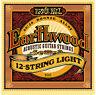 Ernie Ball 2010 Earthwood 12-String Light 80/20 Bronze Acoustic String Set 09-46