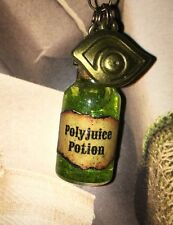 Polyjuice Potion Bottle Charm Necklace For Fan Of Harry Potter Mad Eye Moody