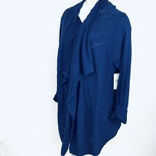 CHAUS New York Fly Away Women Cardigan. Size XXL. New With Tags