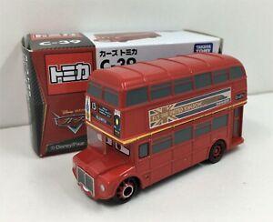 Tomica Disney Pixar Cars *Topper Deckington * London Bus **WOW