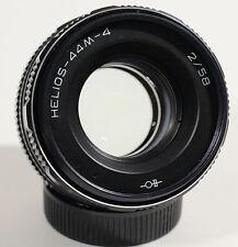 Helios 44M-4 58mm f2  (58/2) Vintage Russian Manual focus M42 mount lens
