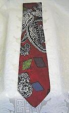 Men's Necktie Como Collezione 100% SILK  Unique Paisley & Geometric Menswear