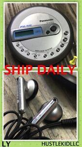 Panasonic SL-SV553J Personal Portable CD Player FM/AM Radio TESTED + EarBud❄️LY