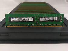 LOT 50 SAMSUNG M391B5273CH0-CH9 4GB DDR3 PC3-10600E 1333MHz UNB DIMM MEMORY RAM