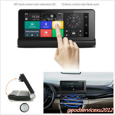 "6.86"" 4G HD 1080P Car DVR GPS Navigator Bluetooth Wifi Dual Lens Video Recorder"