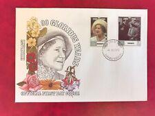 KIRIBATI 1990 FDC QUEEN MOTHER 90TH BIRTHDAY ROYALTY
