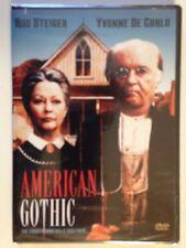 American Gothic (DVD, 2004) Rod Steiger, Yvonne DeCarlo (NEW/SEALED)