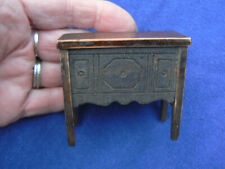 """Vintage Doll House Wood Buffet 2 5/8"""""""