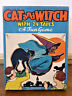 Vintage 1940s/1950s HALLOWEEN Cat and Witch 24 Tails A Fun PARTY Game COMPLETE
