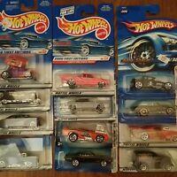 Hot Wheels Series 1998 - 2006 1st Editions Cars U-Pick NIP