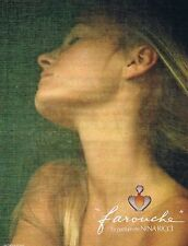 PUBLICITE ADVERTISING 045 1979 NINA RICCI  'Farouche' D. Hamilton