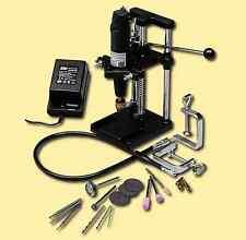 Mini-Bohrmaschine HOBBY DRILL mit Zubehör 0600V1 Megaset