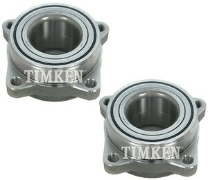 Pair Set 2 Front Timken Wheel Bearing Assies Kit for Honda L5 Acura TL CL V6 FWD
