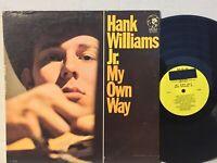 Hank Williams Jr My Own Way EX PROMO YELLOW LABEL