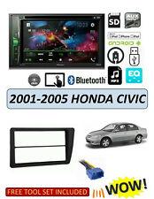 NEW Fits HONDA CIVIC 2001-2005 Stereo Kit, BLUETOOTH TOUCHSCREEN