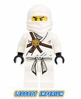 LEGO Ninjago Minifigure - Zane - The Golden Weapons minifig njo001 FREE POST