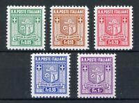 Italien Campione MiNr. 1-5 B postfrisch MNH (W471