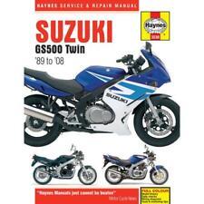 Suzuki GS500F K4-K8 GS500 K1-K8 GS500E K-Y 1989-2008 Haynes Repair Manuel 3238