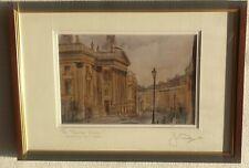 Jim Doran Theatre Royal Newcastle upon Tyne Grey Street Original Signed Print