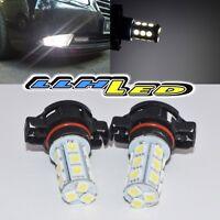 2pc Error Free Xenon White 18 SMD 5200S 5202 LED Bulbs For VW Turn Signal Lights
