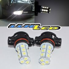 2 x White 5202 H16 5201 SMD LED Fog DRL Lights Bulbs for 2007-2008 Chevy Tahoe