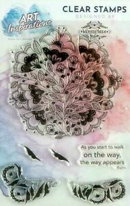 Art Inspirations by Wensdi Made A5 Clear Stamp Set, As You Start To Walk