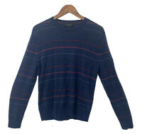 Banana Republic 100% Merino Wool Blue Sweater Size Medium