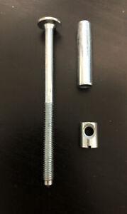 IKEA TARVA Replacement Hardware Screw & Dowel Nut, 105330x1, 128780x1, 100514x1