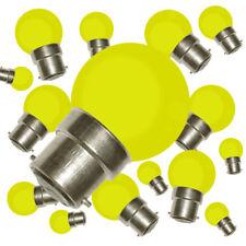Lot de 50 ampoules led b22 (jaunes) résistance aux chocs 2W (équivalent 15W) g45