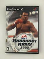Knockout Kings 2002 - Playstation 2 PS2 Game - Tested
