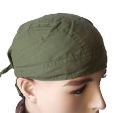 Bandana Gorro Pirata verde oliva - Pañuelo pelo casual estilo militar