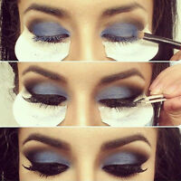 JN_ 50Pcs Disposable Eye Shadow Shields Makeup Beauty Guard Pads Cosmetic Tool