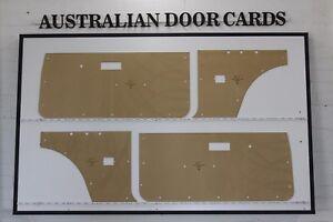 Chrysler, Mitsubishi LC Lancer Hatchback, Liftback Door Cards. Blank Trim Panels